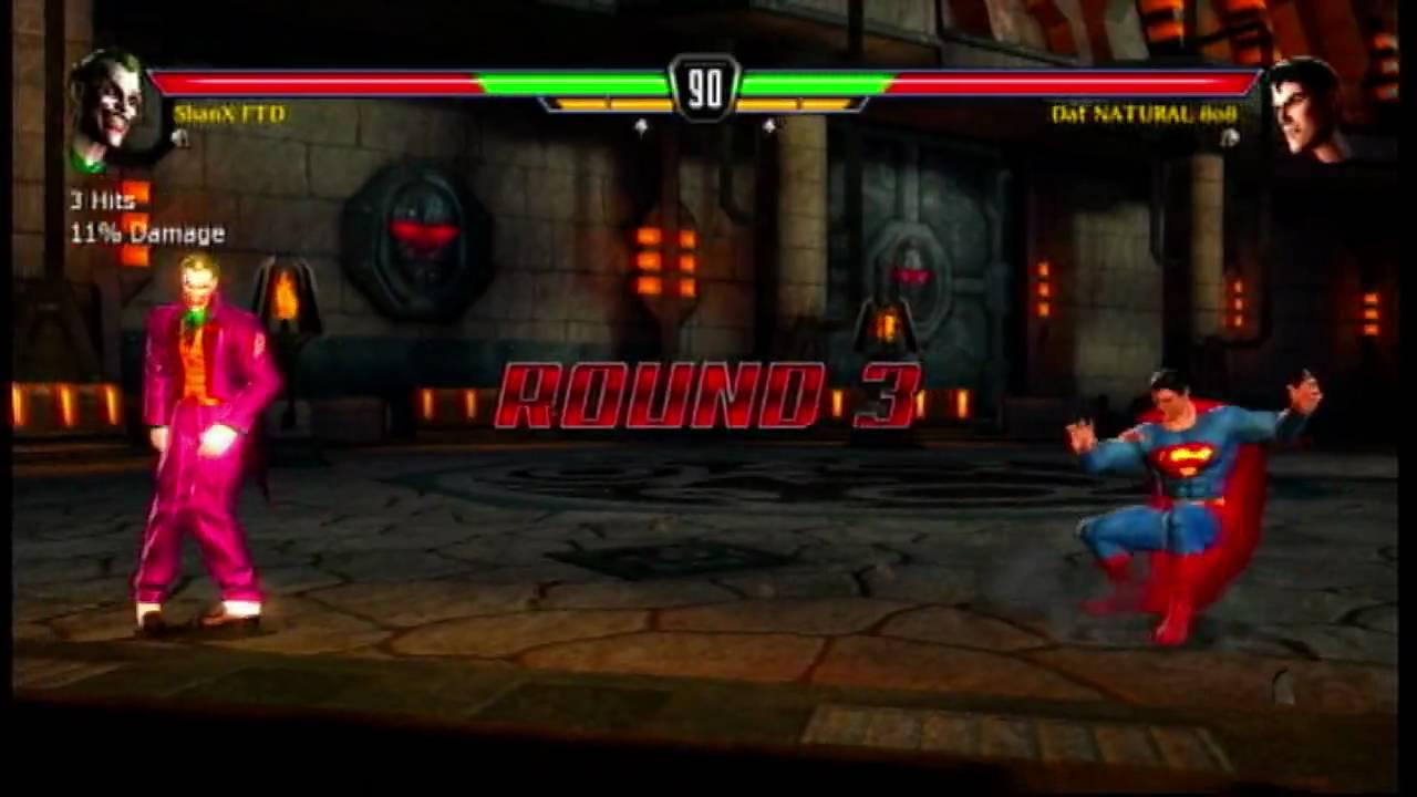 Mortal Kombat Vs DC Universe Xbox 360 Online Match 1 YouTube