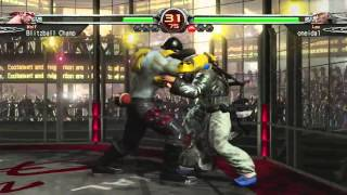 VF Arena #11 - Blitzball Champ vs. oneida - FT7 - Virtua Fighter 5 Final Showdown