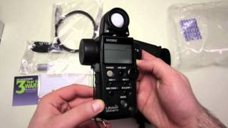 Sekonic L-758DR DigitalMaster Unboxing & Overview + Close Ups!