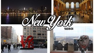 New York Vlog #1 2015 | MAKE YOUR BED ROCK !! MISSED THE BLIZZARD
