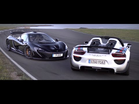 Fastest Hybrid Hyper Cars Mclaren And Po Youtube