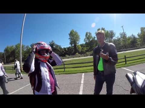 KYT Helmet at meet up Ducati