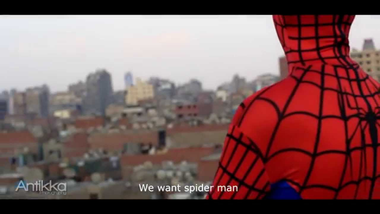 f0b81d7bd Spider-Man At Egypt Trailer // اعلان سبايدر مان فى مصر - YouTube