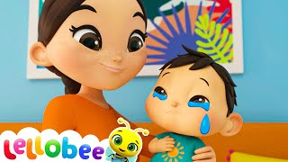 Boo Boo Song! | Lellobee: Nursery Rhymes & Baby Songs | Learning Videos For Kids
