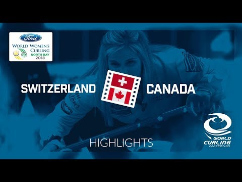 HIGHLIGHTS: Switzerland v Canada – Round-robin – Ford World Women's Curling Championship 2018