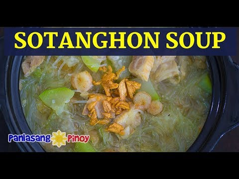Sotanghon With Upo Soup