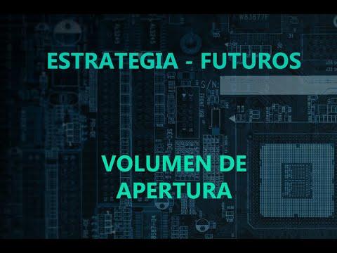 Estrategia para Futuros (@ES @CL) - Volumen en Apertura de Sesión