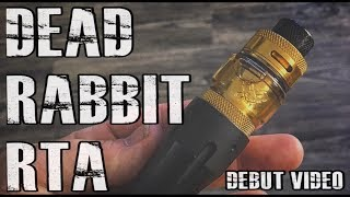 The Dead Rabbit RTA I A Heathen Produxtion I Hell Vape