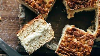 Authentic German Bienenstich Recipe (Bee Sting Cake)