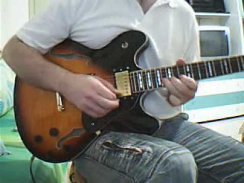 Guitar Solo Blues Fusion Improvisation C Minor