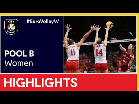 Bulgaria vs. Poland Highlights - #EuroVolleyW