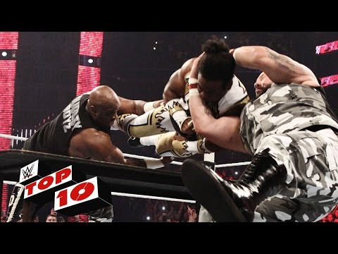 Top 10 Raw moments: WWE Top 10, August 24, 2015