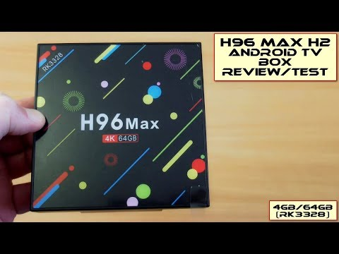 H96 H2 MAX Android TV Box (4GB/64GB): Review/Test