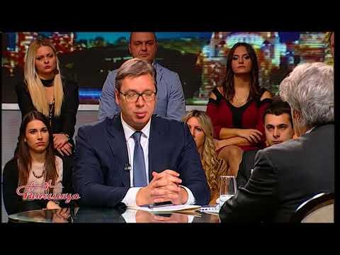 Cirilica - Predsednik Aleksandar Vucic, Sonja Biserko, Bosko Jaksic - (TV Happy 04.12.2017)