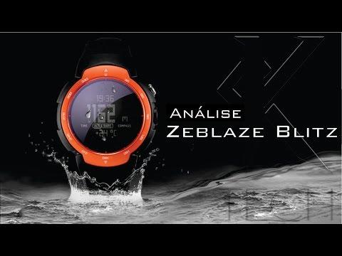 🇧🇷 Review [ Análise ] Zeblaze Blitz - Isso sim é um smartwatch!