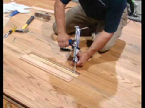 remove & replace hardwood floor board - youtube