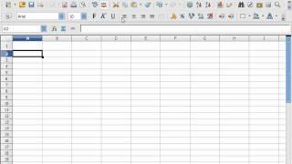 OpenOffice Calc Standardvorlage ändern