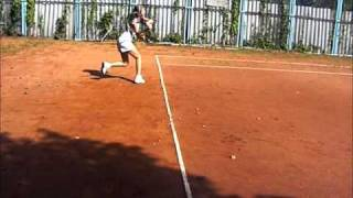 Упражнение для ног теннисиста - стойка теннисиста