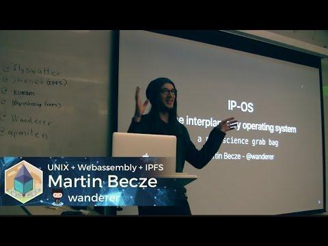 Martin Becze: Interplanetary OS