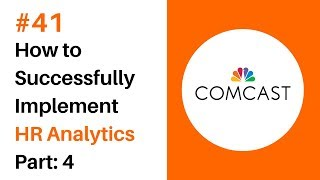 Episode #41 Chris Rosett, Director HR Analytics at Comcast