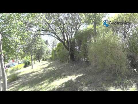 Trimble R10 Bajo árboles Y Cornisas