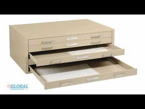 Globalindustrial.com Mayline Flat Files, 5 and 10 Drawer