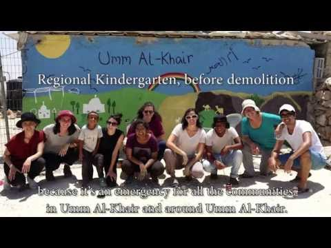 Rebuilding Shelters of Peace in the South Hebron Hills