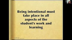 Intentional Learning: Teaching Students to Be Self-Directed Learners