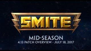 Smite - Patch de Meio de Temporada 4.13