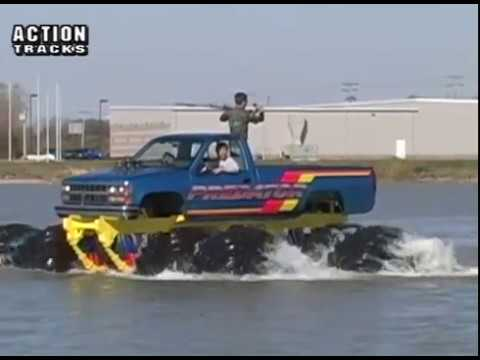 Monster Trucks Float On Water Tmb Tv Retrotracks Youtube