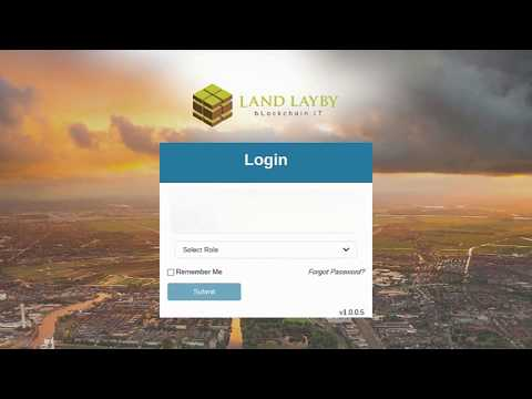 How to Access The Land LayBy Blockchain Land Registry