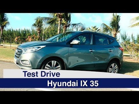 Test Drive Hyundai IX 35