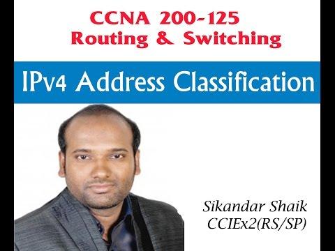 IPv4 Address Classification - Video By Sikandar Shaik    Dual CCIE (RS/SP) # 35012