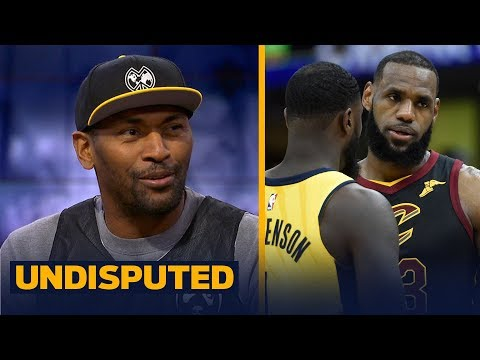 Metta World Peace on Lance Stephenson's matchup with LeBron in Rd. 1 of the playoffs | UNDISPUTED