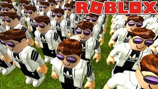 HUGE KLON ARMEE CREATE IN ROBLOX