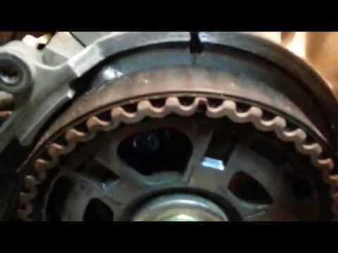 How to replace a timing belt and water pump 2006 Saturn Vue / Acura / Honda  Part 1 of 2