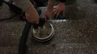 Čištění schodů, čištění žulových schodů, parní čištění schodů systémem MOSMATIC Steam PRO