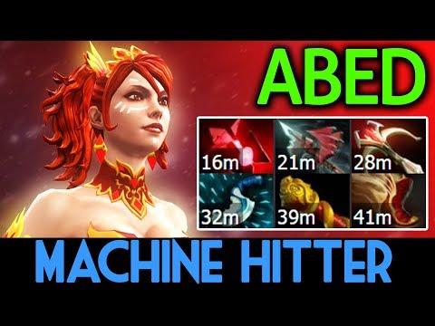 ABED Dota 2 [Lina] Machine Hitter Build by 10k MMR