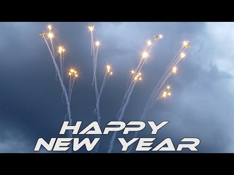 4K UHD Happy New Year Video 2019 (Pioneer team) Airshow Video