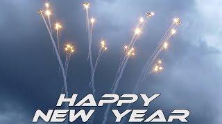 4K UHD Happy New Year 2020 Pioneer team Airshow