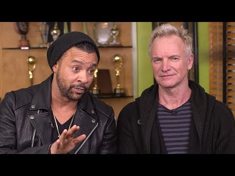 Inside the collaboration between music superstars Sting and Shaggy