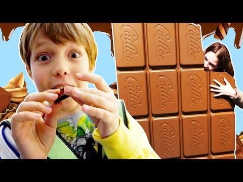 Адриан на фабрике шоколада в Швейцарии - Как провести выходные - Куда сходить