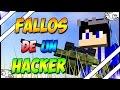 FALLOS DE UN HACKER |Minecraft PE|