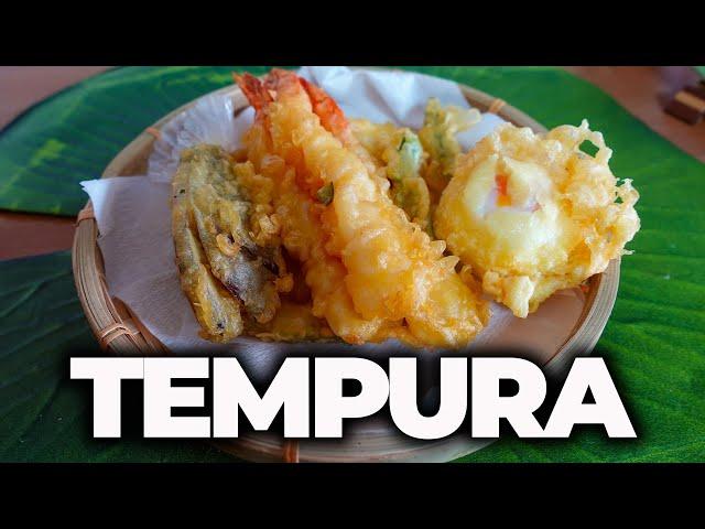 TEMPURA - CIBO A DOMICILIO IN GIAPPONE Ep. 43.5