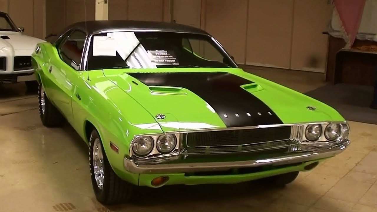 1970 Dodge Challenger 440 V8 Sublime Green Mopar Muscle