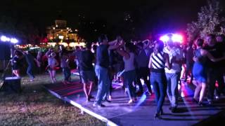 Salsa Social with DJ Sam at the Salsa Night in the Old Port on August 1st 2015