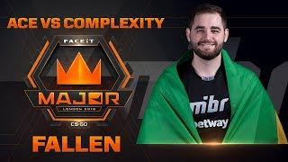 Fallen ACE vs Complexity (FACEIT Major: London 2018)