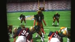 NFL Quarterback Club 99 N64 Gameplay Review