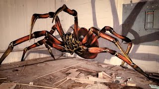 Incredible Timelapse Of 3D Spider Graffiti