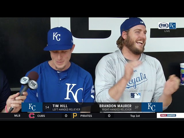 Hill and Maurer on the personalities in the Royals bullpen